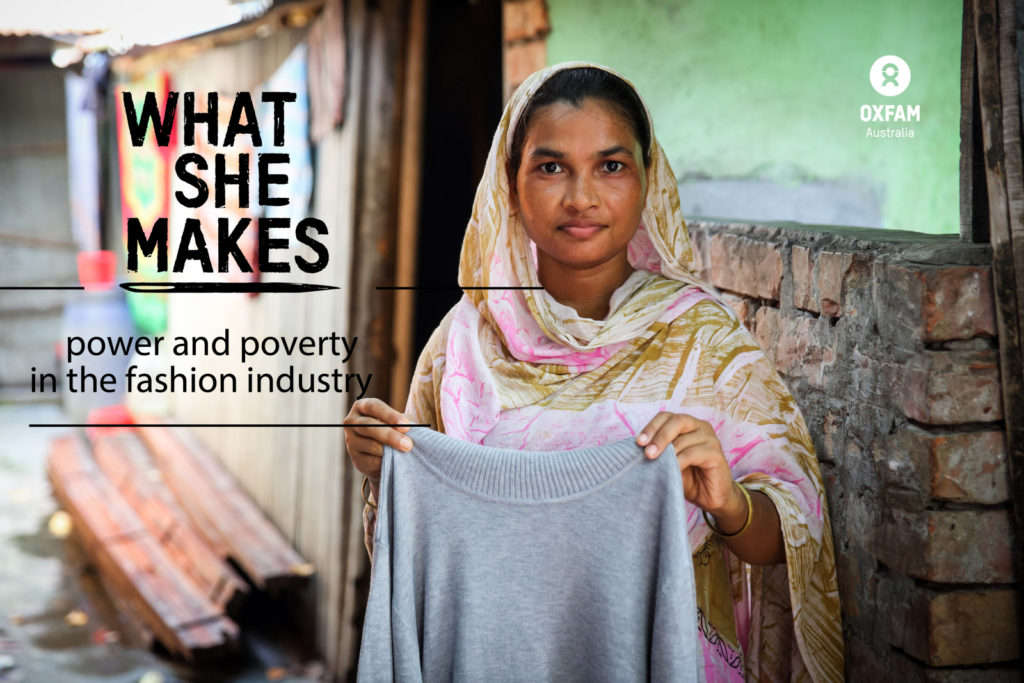 Bangladesh factory workers earn only 2% of a garment made by